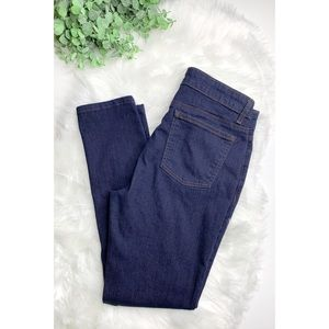 EILEEN FISHER Organic Cotton Straight Leg Jeans 8